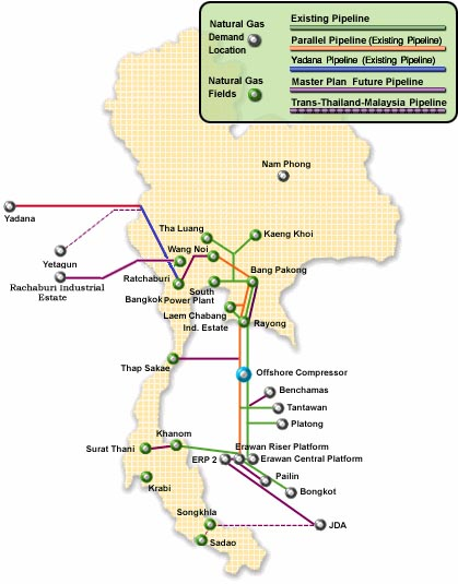 Natural Resources Ng Thailand